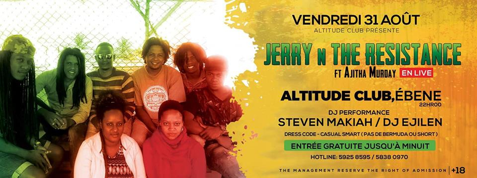 Jerry N The Resistance LIVE at Altitude Club