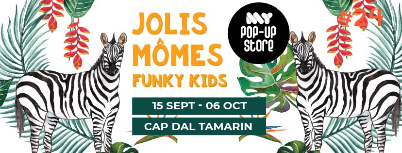Jolis Momes, Funky Kids - My Pop Up Store - Edition 24