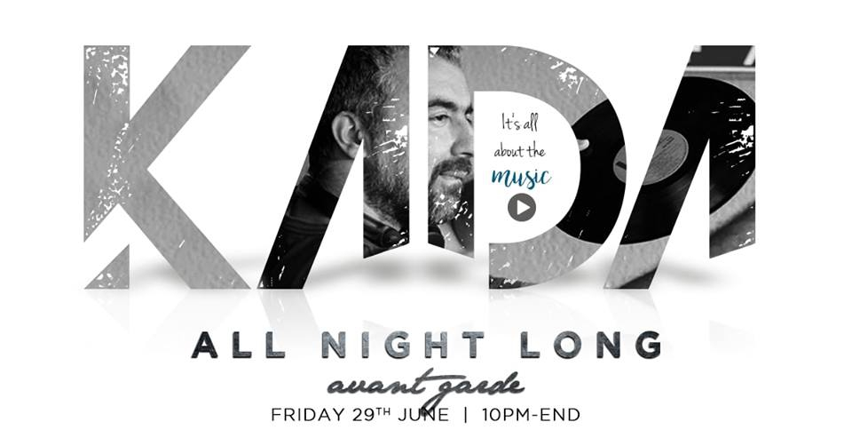 KADA | ALL NIGHT LONG | AT AVANT GARDE COCKTAIL BAR GRAND BAIE