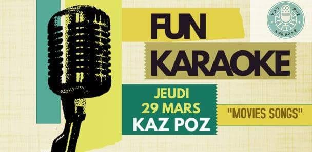 Kas Poz Fun Karaoké- MOVIE SONGS