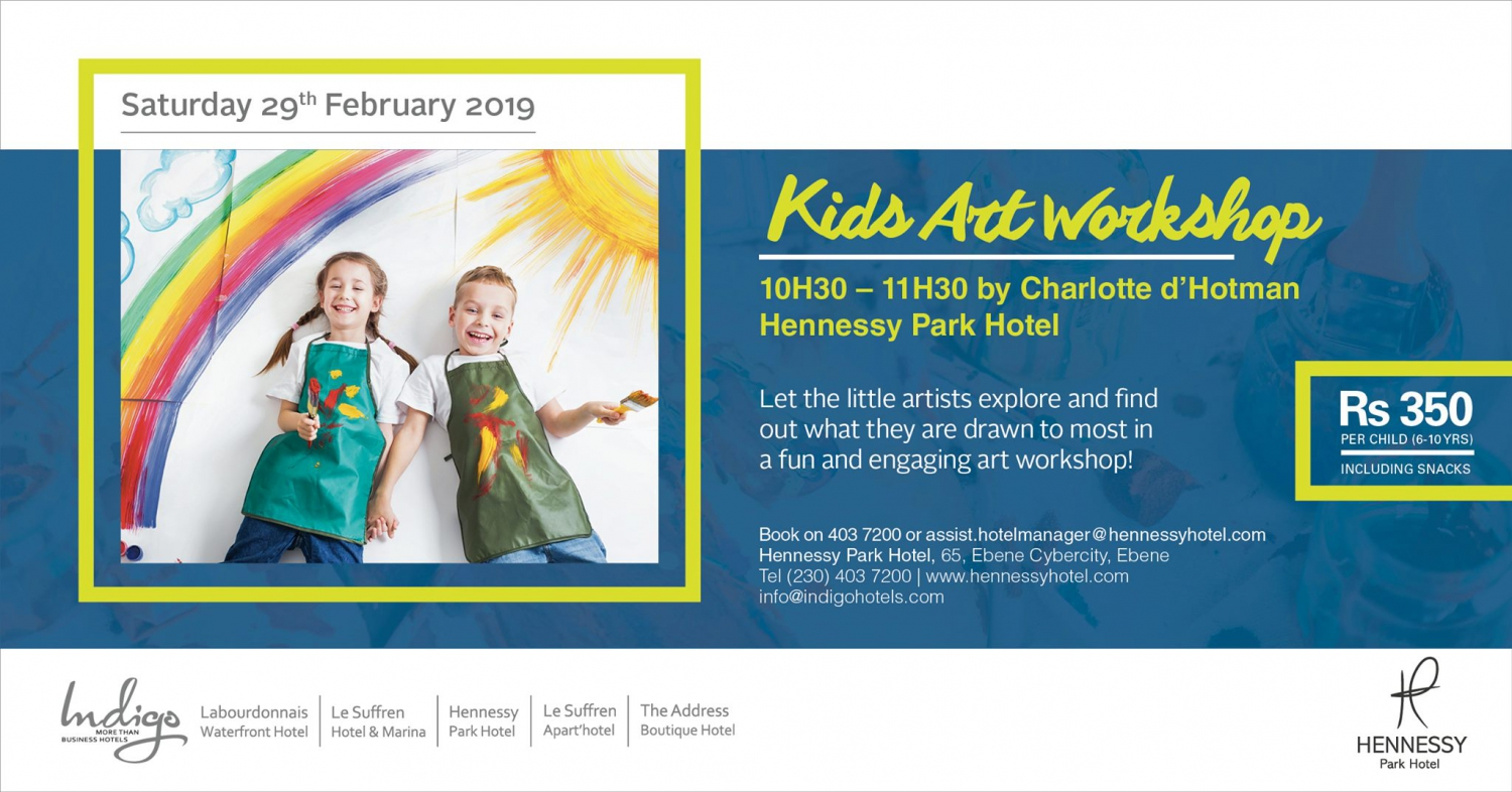 Kids Art Workshop at Hennessy