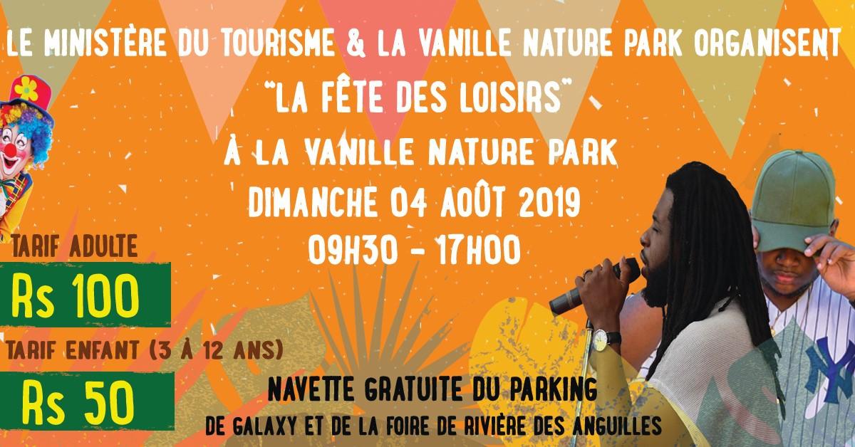 La Fête des Loisirs à La Vanille Nature Park