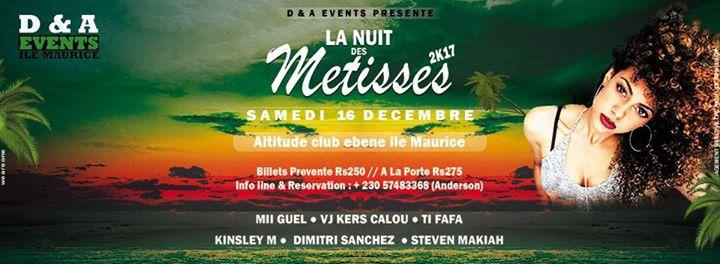 La Nuit Des Métisses 2k17