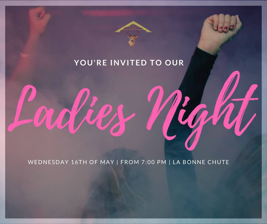 Ladies Night at La Bonne Chute