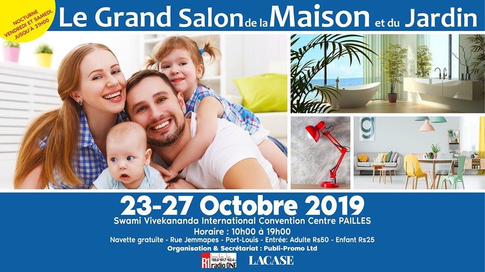Le Grand Salon de la Maison et du Jadin - Octobre 2019