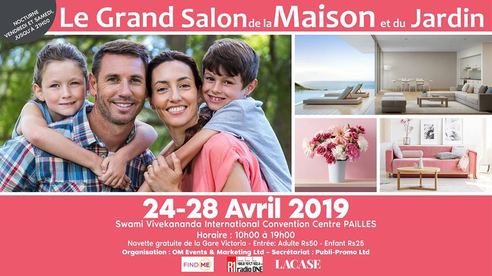 Le Grand Salon de la Maison et du Jardin Avril 2019