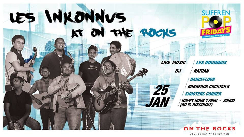 Les Inkonus at On The Rocks