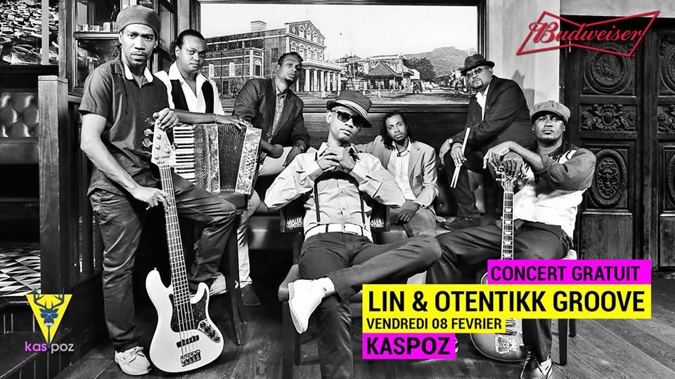 Lin & Otentikk Groove // Concert Gratuit // Kas Poz