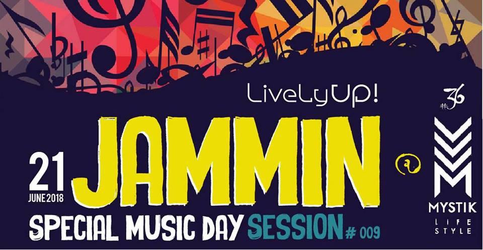 Lively up Jammin Session Special fete de la musique!