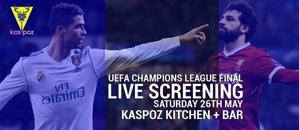 Liverpool VS Real Madrid // Champions League Final // Kas Poz