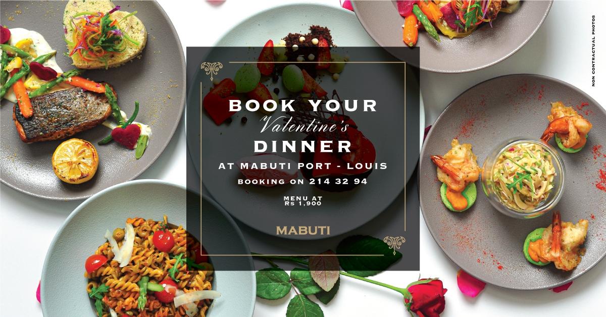 Mabuti's Valentine Dinner