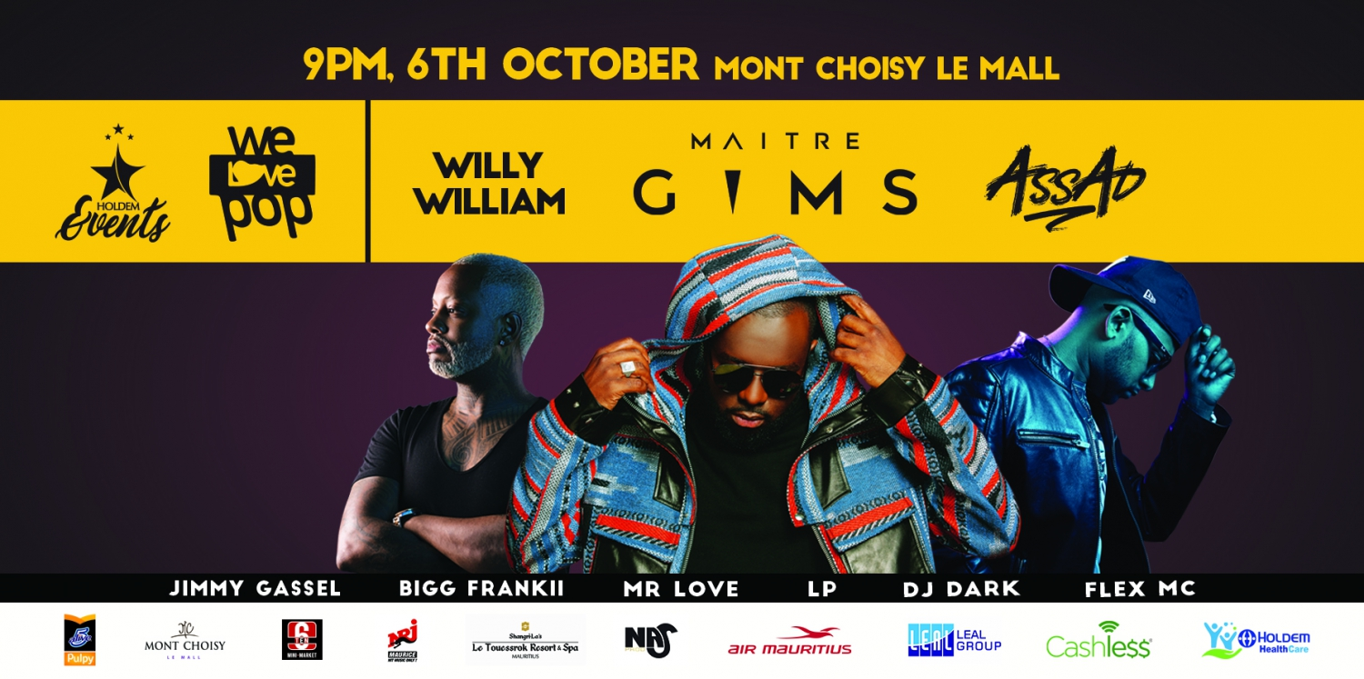 Maitre Gims In Concert WE Love POP - The International Pop Music Event