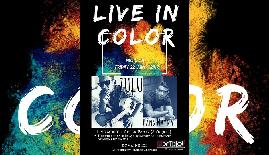 Mauritius Live in Color