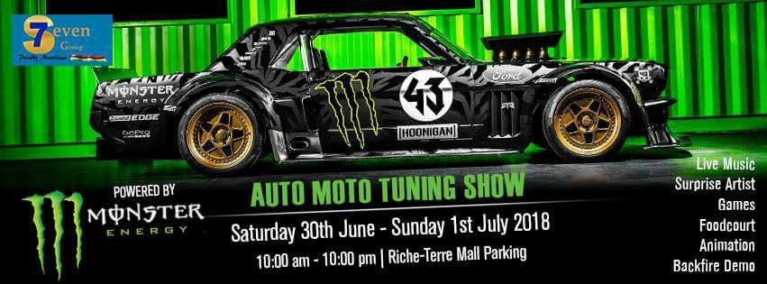 Mauritius Monster Automoto Tuning Show 2018