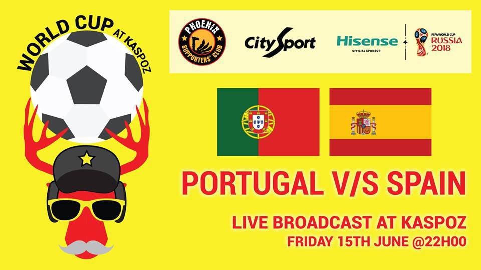 Mauritius Portugal VS Spain // World Cup // Kas Poz