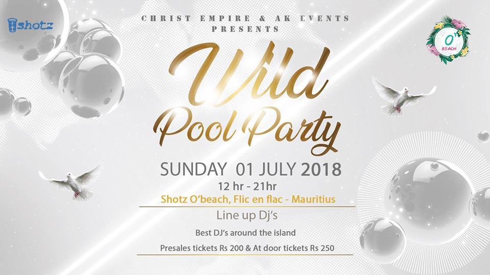Mauritius Wild Pool Party