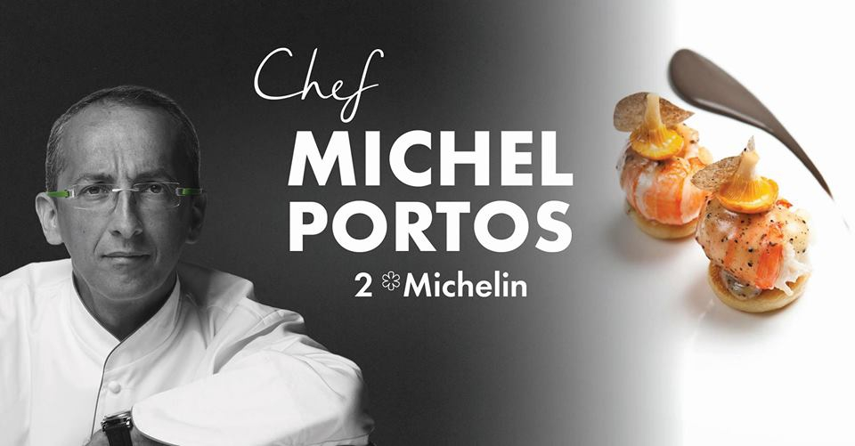 Michelin-starred Chef Michel Portos at Long Beach Mauritius