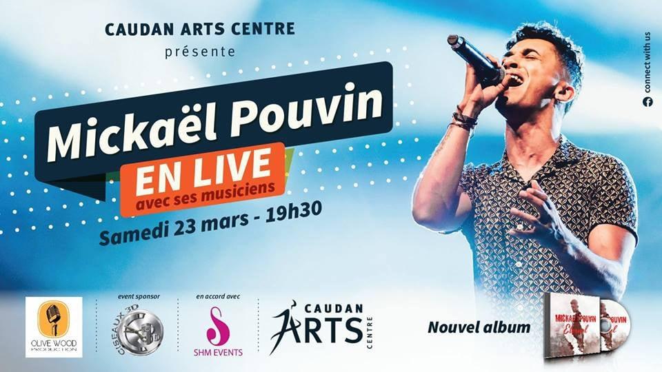 Mickaël Pouvin concert at Caudan Arts Centre