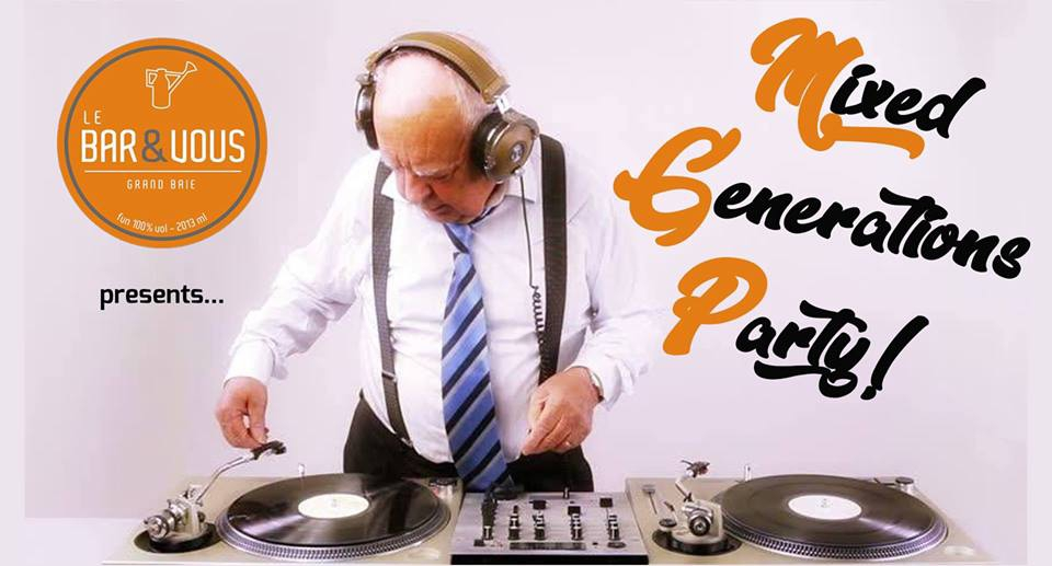 Mixed Generations Party 80's/90's feat. DJ Mike at Le Bar & Vous