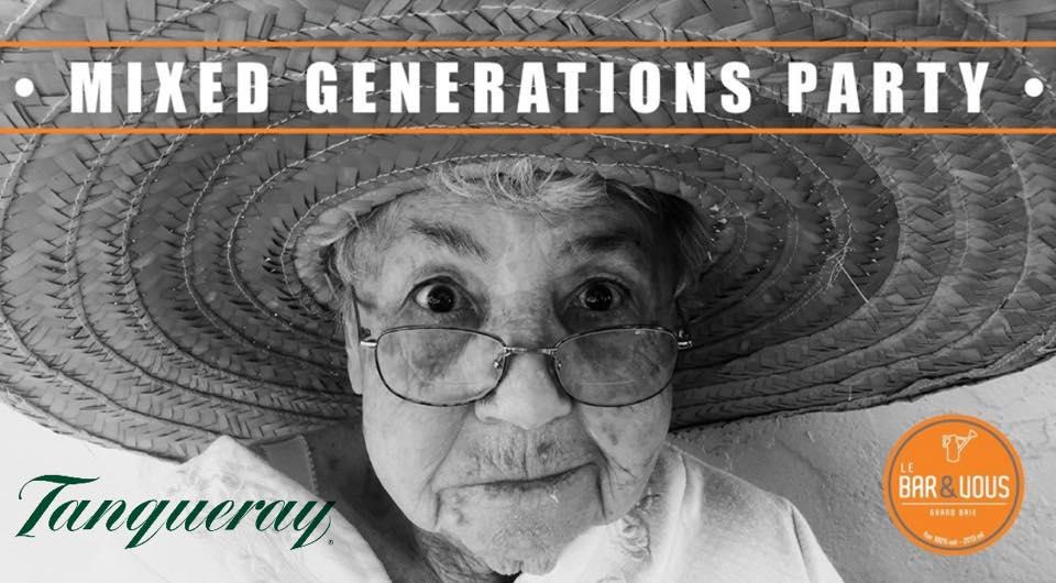 Mixed Generations Party feat. Francois LI (80's 90's till now) 14Jun19
