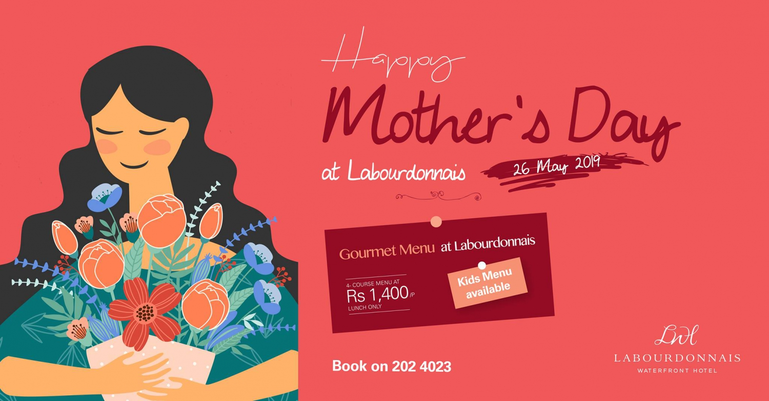 Mother's Day at Labourdonnais Waterfront Hotel