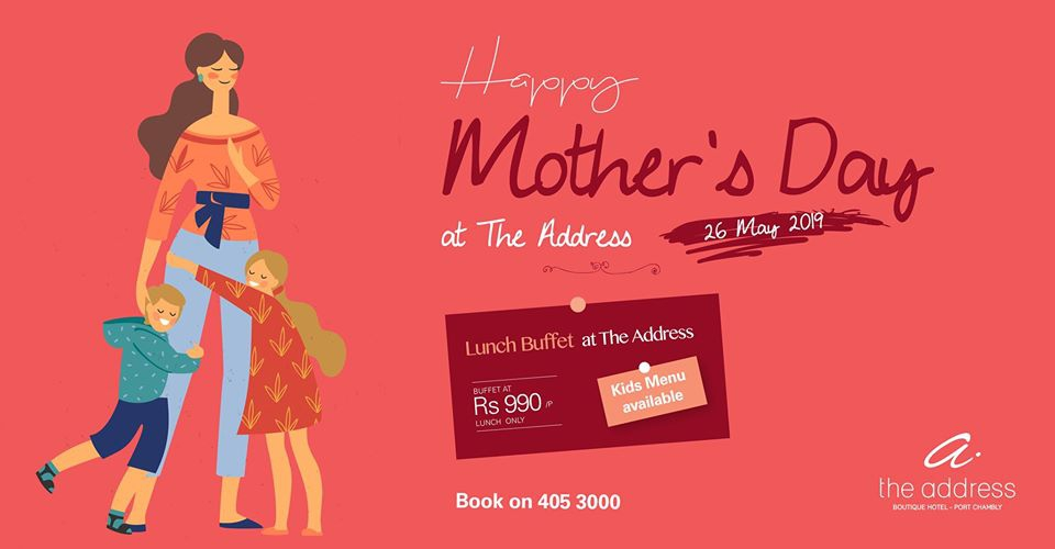 Mother's Day at The Address Boutique Hotel