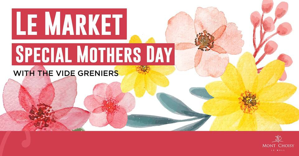 Mothers Day Market with The Vide Greniers