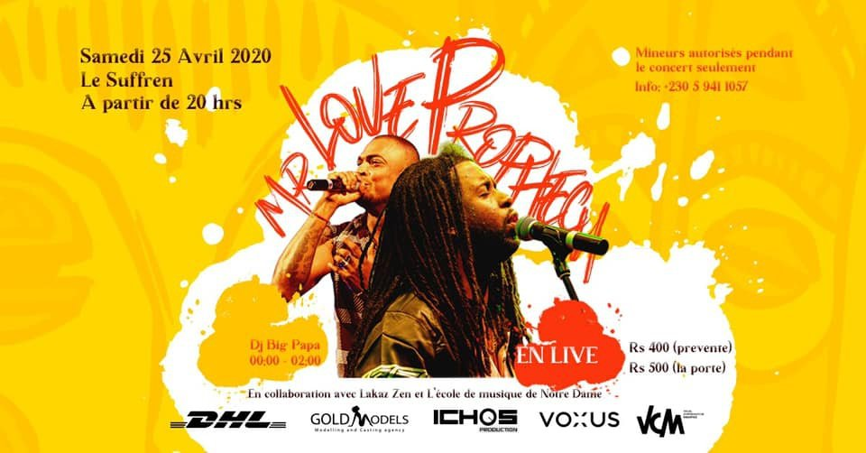 Mr Love & The Prophecy Live Concert