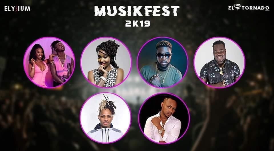 Φ Musikfest 2K19 at Mont Choisy Mall Φ