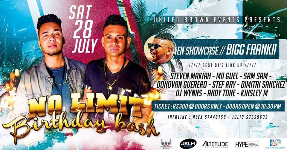 No Limit Birthday Bash | Bigg Frankii En Showcase !