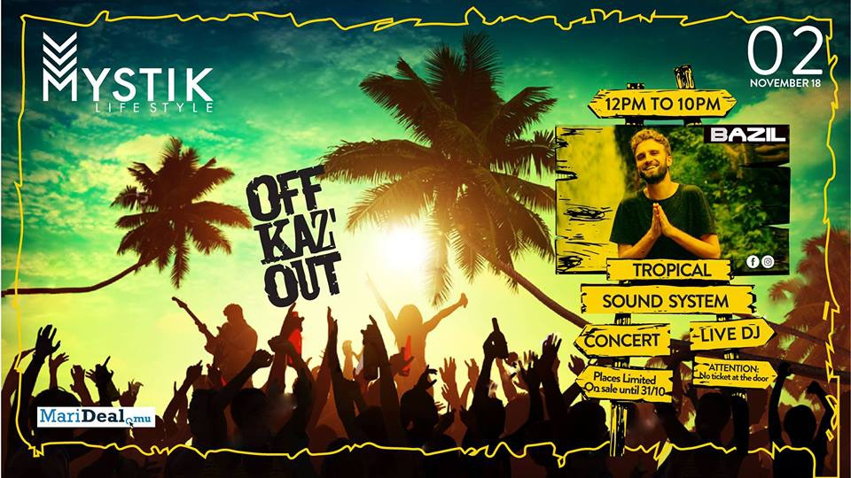 OFF Kaz'Out - Tropical Sound System with Bazil