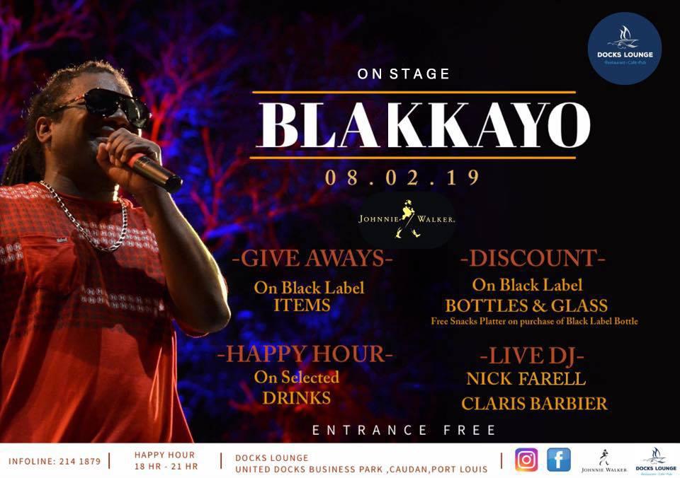 On Stage with Blakkayo / BLACK LABEL