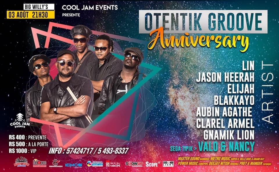 Otentik Groove Anniversary