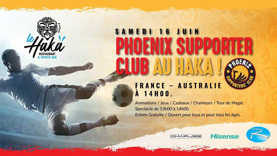 Phoenix Supporters Club ⚑ - Le Haka
