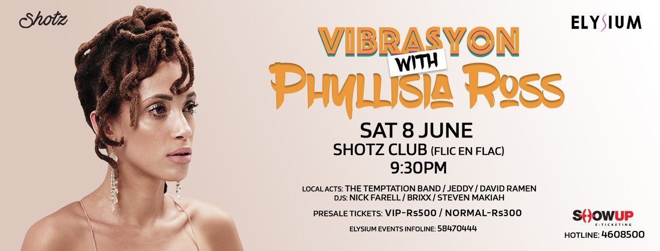 Phyllisia Ross Live at Shotz Club