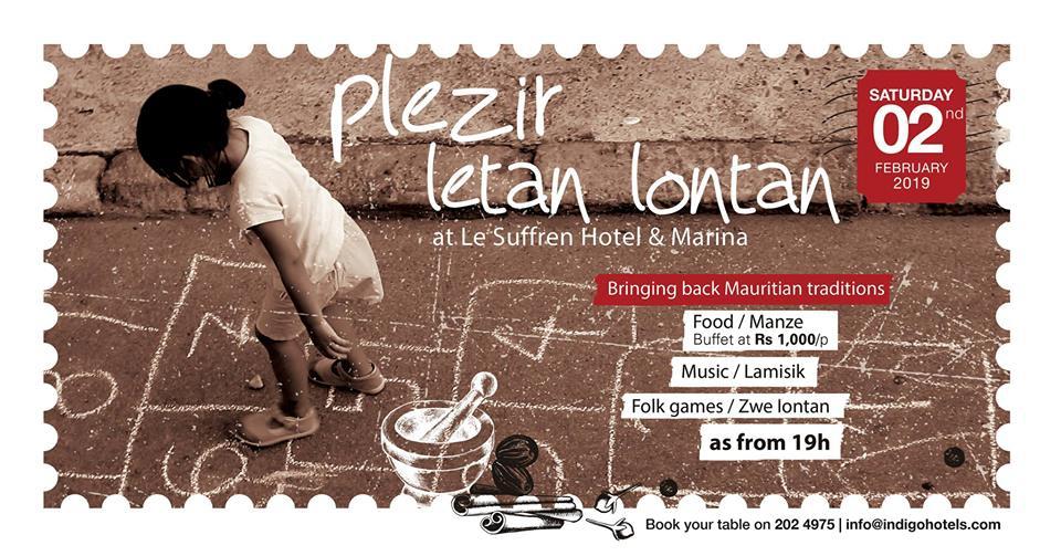 Plezir Letan Lontan at Le Suffren