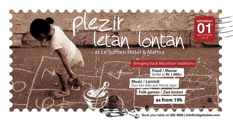 Plezir Letan Lontan at Le Suffren Hotel & Marina