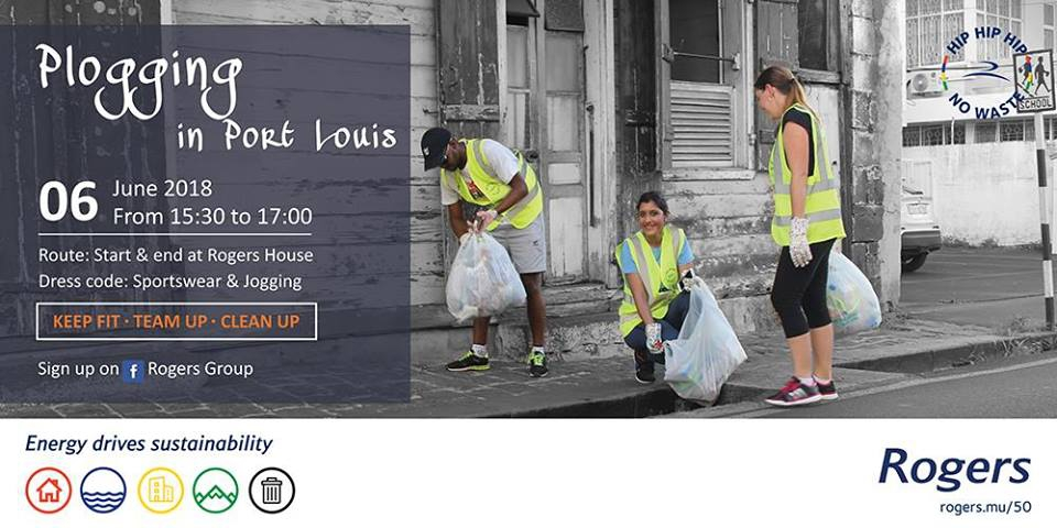 Plogging in Port-Louis, 2nd edition