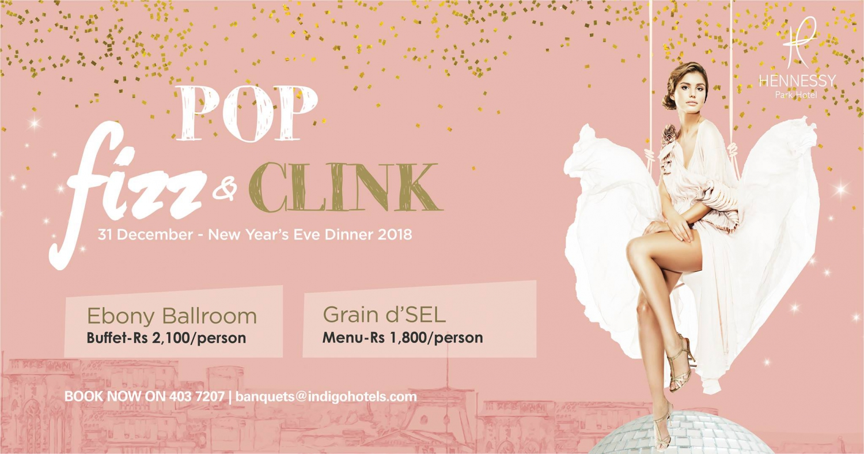 Pop, fizz & clink for NYE