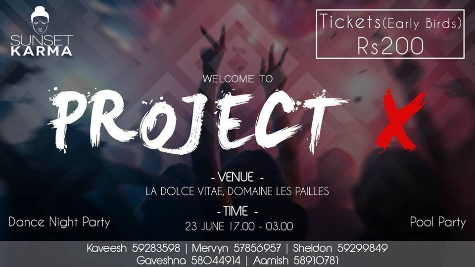 Project X - La Dolce Vita