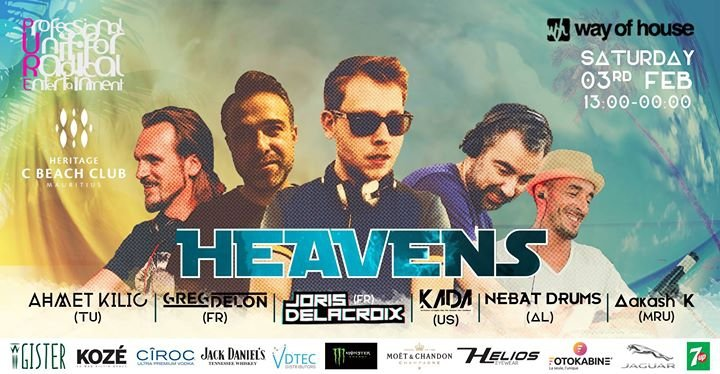 PURE at C BEACH Club: Heavens