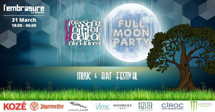PURE Music & Art Festival 'The Full Moon Party'