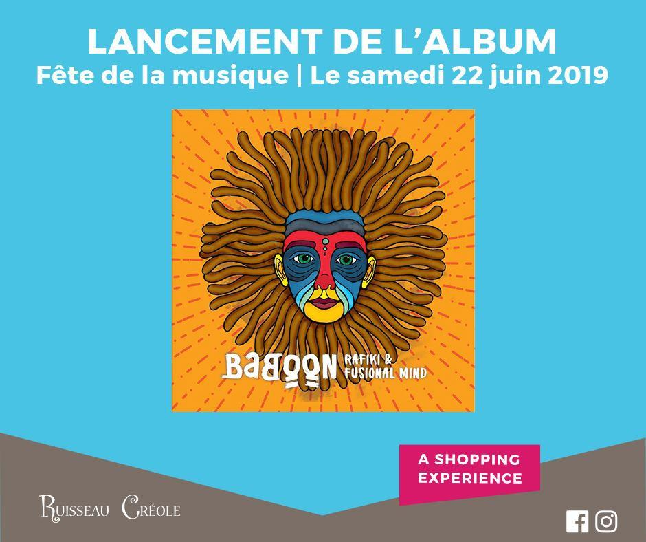 Rafiki & Fusional Mind - Baboon Album Release
