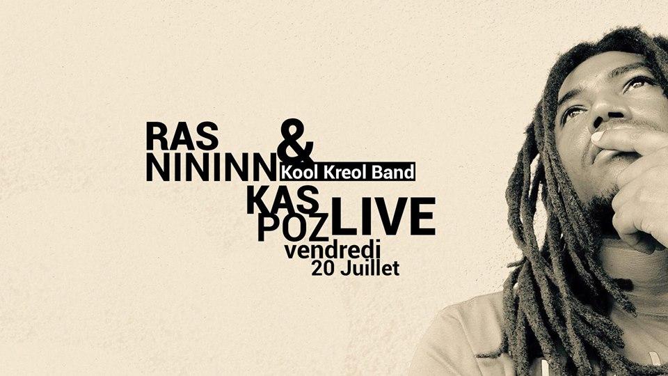 Ras Nininn & Kool Kreol Band // Kas Poz // Vendredi Live