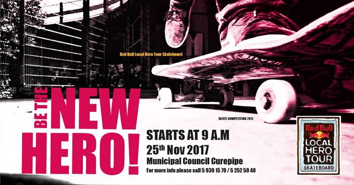 Red Bull Local Hero Tour Mauritius 2017