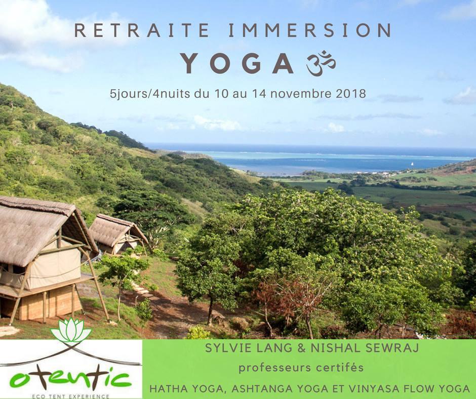 Retraite Immersion Yoga