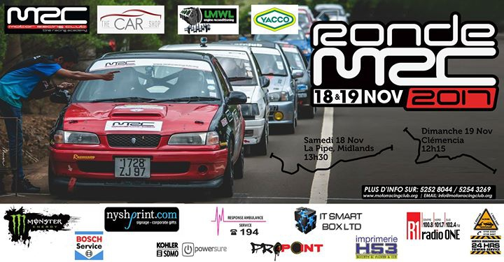 Ronde MRC - 5th Stage of the National Rally Championship 2017