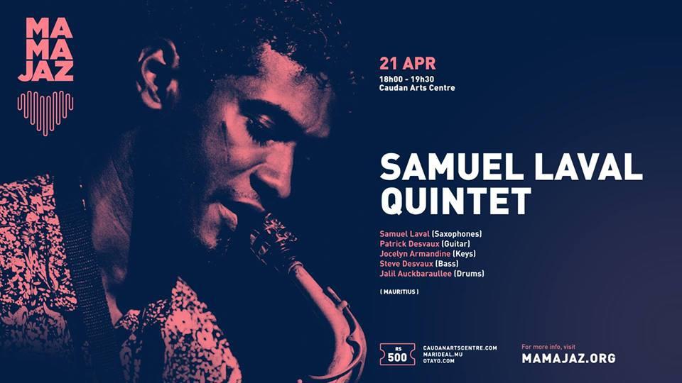 Samuel Laval Quintet ∣ MAMA JAZ 2019