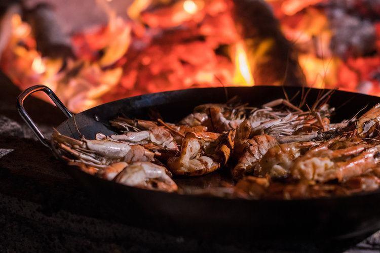 Seafood BBQ at La Pirogue