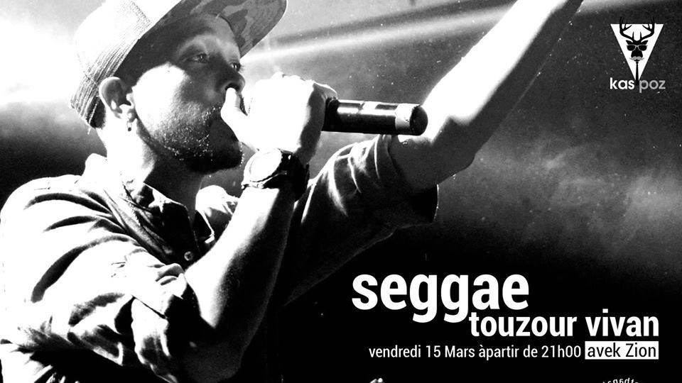 Seggae touzour vivan avek ZION // Kas Poz // Vendredi Live